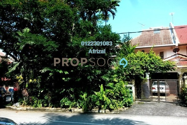 For Sale Terrace at Athinahapan, TTDI Freehold Semi Furnished 7R/4B 3.28m