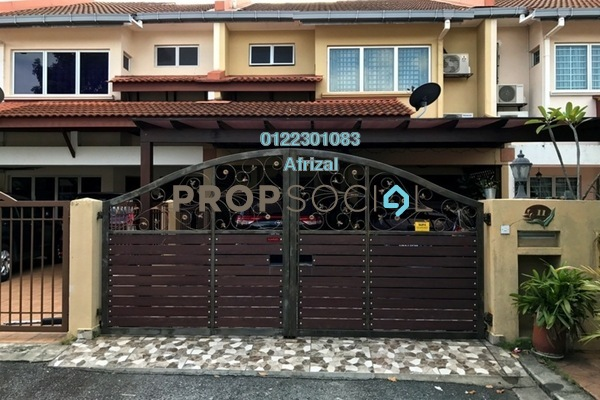 For Sale Terrace at Seri Utama, Kota Damansara Freehold Semi Furnished 5R/3B 860k