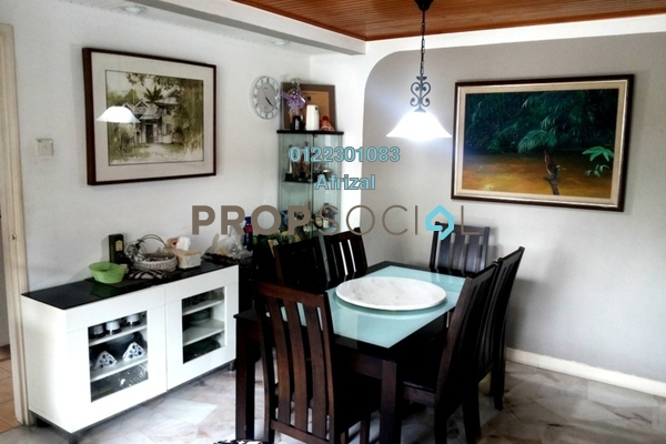 For Sale Townhouse at Kiara Green, TTDI Freehold Semi Furnished 3R/3B 840k