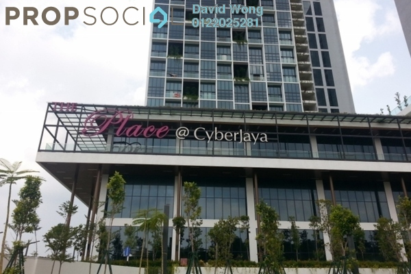 For Rent Condominium at The Place, Cyberjaya Freehold Fully Furnished 3R/1B 1.2k