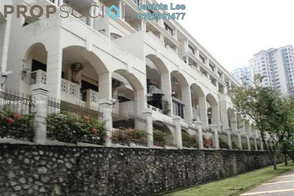 For Sale Condominium at Tivoli Villas, Bangsar Freehold Semi Furnished 2R/1B 445k