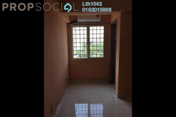 For Rent Apartment at Lestari Apartment, Bandar Sri Permaisuri Freehold Semi Furnished 3R/2B 1.1k
