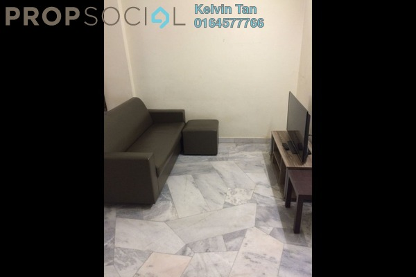 For Rent Apartment at Pangsapuri Bukit Beruang Utama, Bukit Beruang Freehold Fully Furnished 3R/2B 1.2k