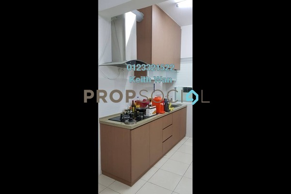 For Sale Apartment at Green Suria Apartment, Bandar Tun Hussein Onn Freehold Semi Furnished 3R/2B 395k