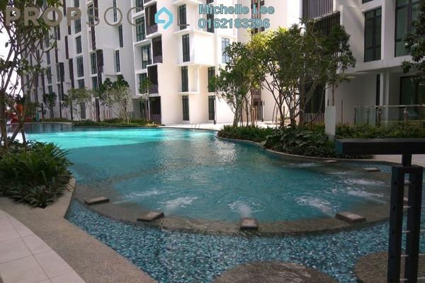 For Sale SoHo/Studio at H2O Residences, Ara Damansara Freehold Semi Furnished 1R/1B 388k