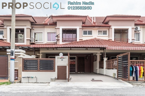 For Sale Terrace at Bandar Puteri Klang, Klang Freehold Semi Furnished 4R/3B 660k