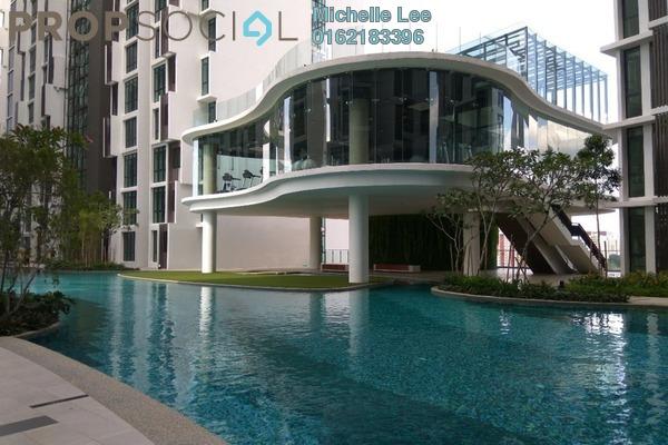 For Sale Serviced Residence at H2O Residences, Ara Damansara Freehold Semi Furnished 2R/2B 576k