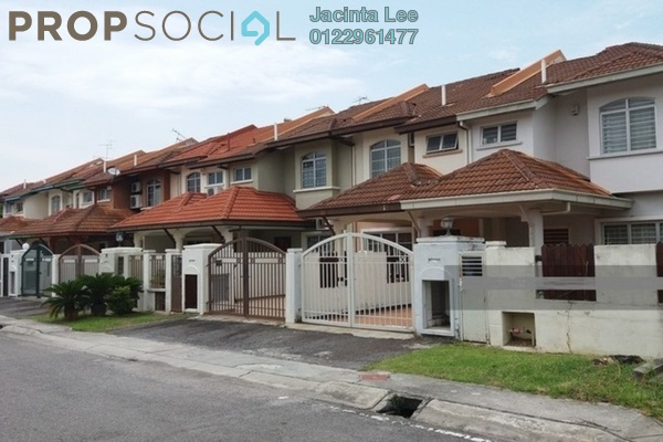 For Sale Terrace at Anggerik Liparis, Kota Kemuning Freehold Semi Furnished 4R/4B 608k