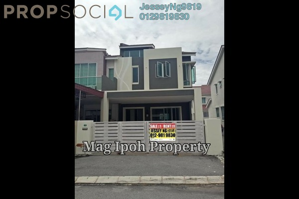 For Rent Terrace at Taman Sri Perkasa Baru, Ipoh Freehold Unfurnished 4R/4B 1.2k