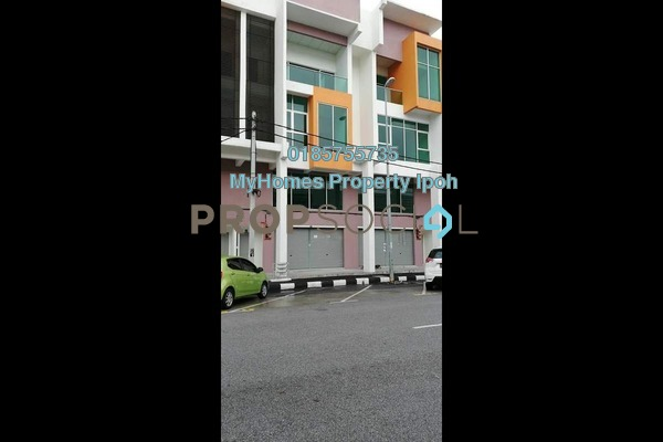 For Rent Shop at Taman Tasek Indra, Ipoh Freehold Unfurnished 3R/3B 2k