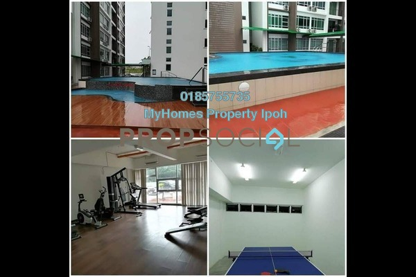For Rent Condominium at Bandar Seri Botani, Ipoh Freehold Semi Furnished 3R/2B 1.3k