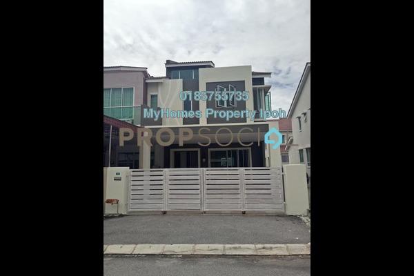For Rent Link at Medan Lapangan Sentosa, Ipoh Freehold Unfurnished 4R/4B 1.2k