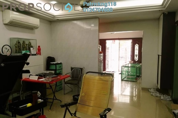 For Sale Terrace at Laman Rimbunan, Kepong Freehold Fully Furnished 6R/6B 1.5m