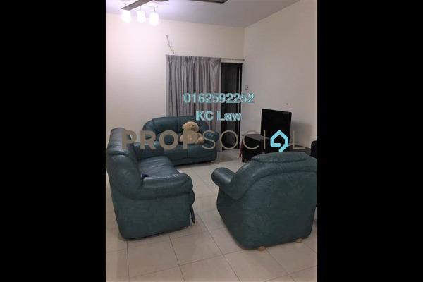 For Rent Condominium at Pelangi Utama, Bandar Utama Freehold Fully Furnished 3R/2B 1.8k