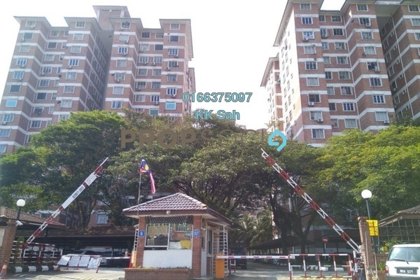 For Sale Condominium at Garden Park, Bandar Sungai Long Leasehold Semi Furnished 3R/2B 265k