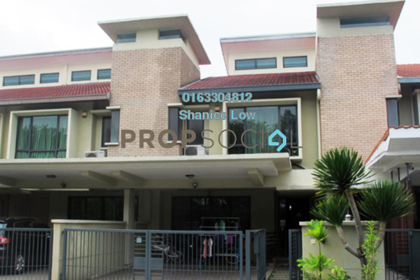 For Sale Terrace at SouthLake, Desa ParkCity Freehold Semi Furnished 4R/3B 1.87m