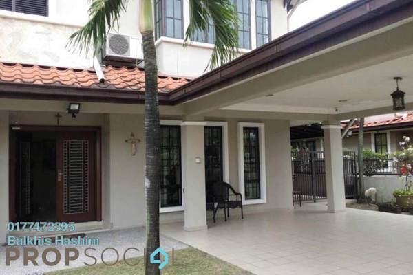 For Sale Semi-Detached at Taman Saujana, Klang Freehold Fully Furnished 4R/3B 1.1m