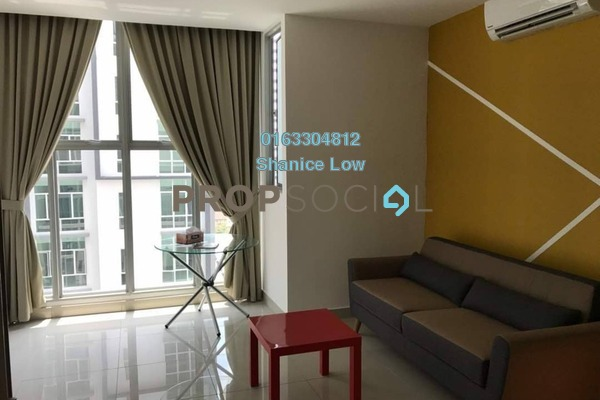 For Rent Serviced Residence at 3Elements, Bandar Putra Permai Freehold Fully Furnished 1R/1B 1.1k