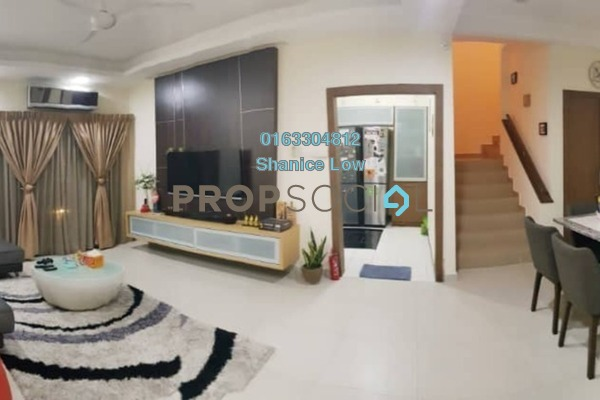 For Rent Townhouse at Parkville Garden Townhouse, Sunway Damansara Freehold Fully Furnished 3R/4B 2.6k
