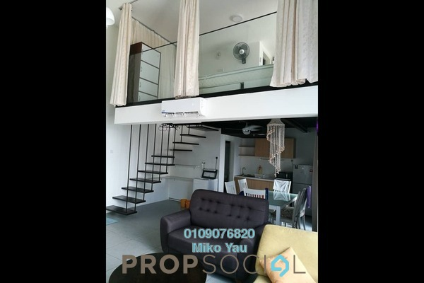 For Rent Duplex at Empire City, Damansara Perdana Freehold Fully Furnished 1R/2B 1.8k