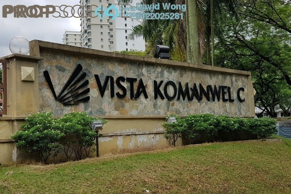 For Rent Condominium at Vista Komanwel, Bukit Jalil Freehold Semi Furnished 4R/4B 1.8k