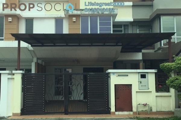 For Sale Terrace at Setia Impian, Setia Alam Freehold Semi Furnished 4R/3B 680k