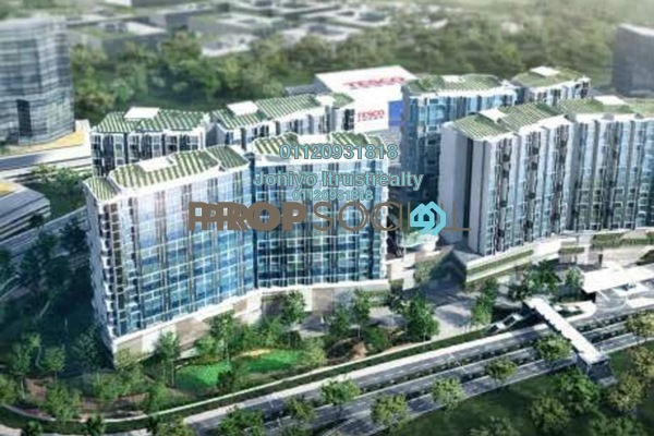 For Sale Condominium at Lumi Tropicana, Tropicana Freehold Semi Furnished 3R/2B 620k