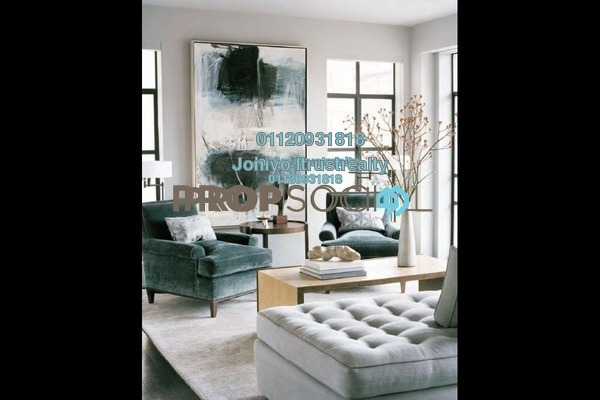 For Sale Condominium at Cantara Residences, Ara Damansara Freehold Semi Furnished 3R/2B 575k