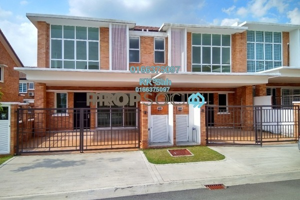 For Rent Superlink at Goodview Heights, Kajang Freehold Semi Furnished 5R/5B 1.6k