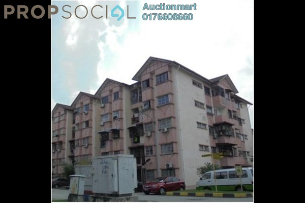 For Sale Apartment at Jasmin Apartment, Subang Freehold Unfurnished 0R/0B 160k
