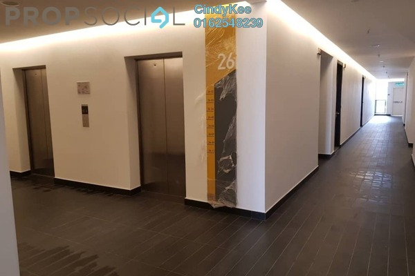 For Sale Serviced Residence at The Hub, Petaling Jaya Freehold Semi Furnished 3R/2B 1.05m