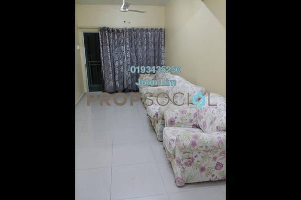 For Rent Condominium at Kepong Sentral Condominium, Sungai Buloh Freehold Semi Furnished 3R/2B 1.1k