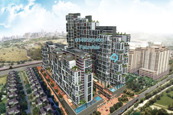 For Sale Condominium at Arcoris, Mont Kiara Freehold Semi Furnished 3R/2B 2.76m