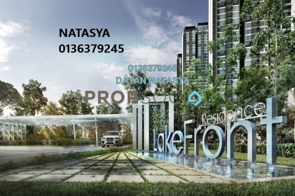For Sale Condominium at LakeFront Residence, Cyberjaya Freehold Semi Furnished 3R/2B 849k
