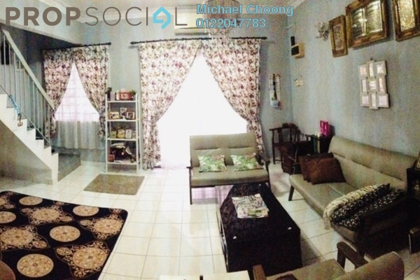 For Sale Terrace at PU12, Bandar Puchong Utama Freehold Semi Furnished 4R/3B 505k