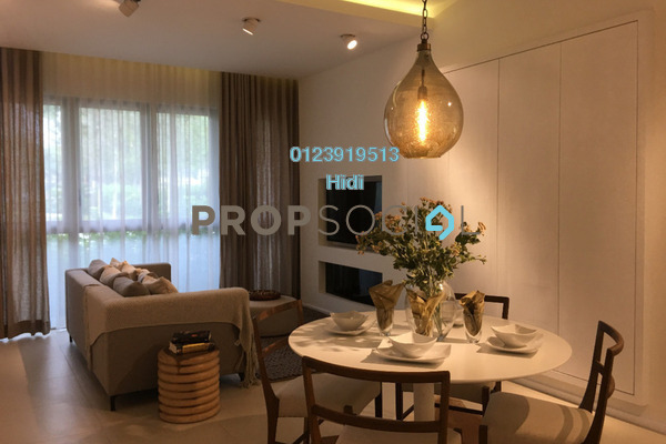 For Sale Serviced Residence at Cantara Residences, Ara Damansara Freehold Semi Furnished 2R/1B 526k