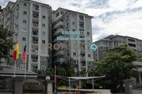 For Sale Condominium at Sri Permata, Shah Alam Freehold Semi Furnished 3R/2B 430k