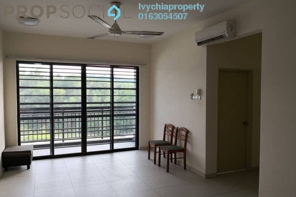 For Rent Serviced Residence at Serin Residency, Cyberjaya Freehold Semi Furnished 3R/2B 1.5k