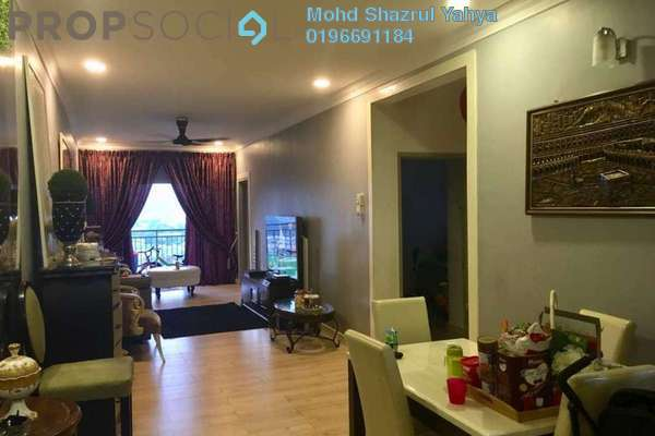 For Sale Condominium at Symphony Heights, Selayang Freehold Semi Furnished 3R/2B 320k