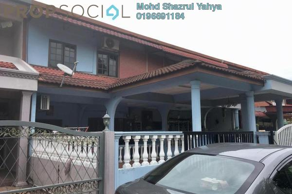 For Sale Terrace at Teluk Gadong, Klang Freehold Semi Furnished 3R/3B 650k