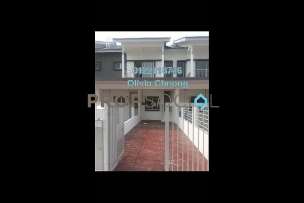 For Rent Townhouse at The Lake Residence, Puchong Freehold Semi Furnished 3R/2B 1.3k