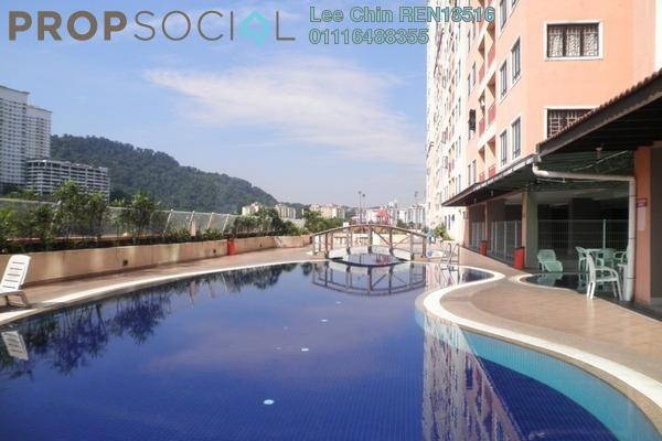 For Sale Condominium at Glen View Villa, Cheras Freehold Semi Furnished 3R/2B 380k
