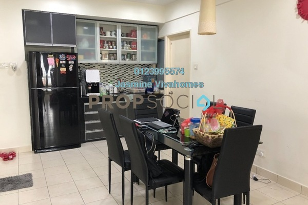 For Sale Condominium at Glen View Villa, Cheras Freehold Fully Furnished 3R/2B 370k