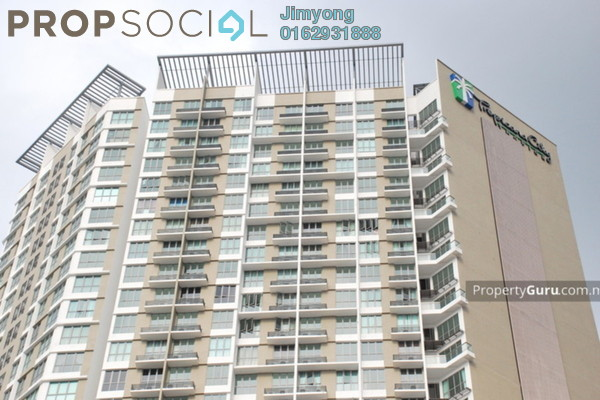 For Rent Condominium at Tropicana City Tropics, Petaling Jaya Freehold Fully Furnished 2R/1B 3.9k