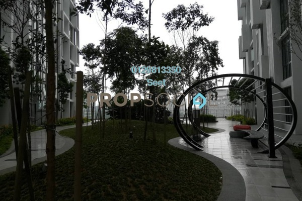 For Rent Condominium at H2O Residences, Ara Damansara Freehold Semi Furnished 1R/1B 1.65k