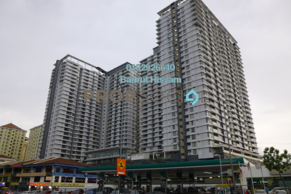 For Sale Condominium at Platinum Hill PV2, Setapak Freehold Unfurnished 4R/2B 590k
