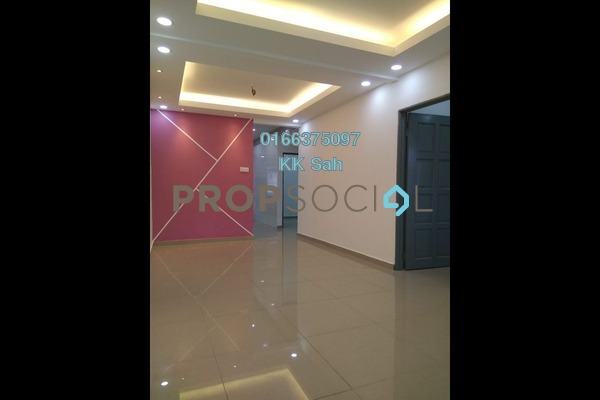 For Sale Link at Taman Sentosa, Klang Freehold Semi Furnished 3R/2B 356k