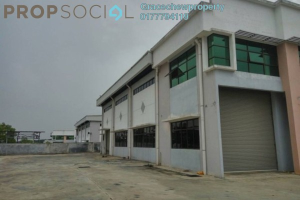For Rent Factory at Taman Perindustrian Cemerlang, Ulu Tiram Freehold Unfurnished 0R/0B 6.8k