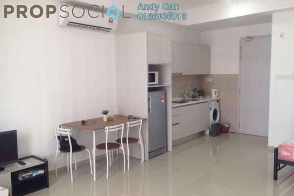 For Rent SoHo/Studio at i-City, Shah Alam Freehold Fully Furnished 1R/1B 1.3k