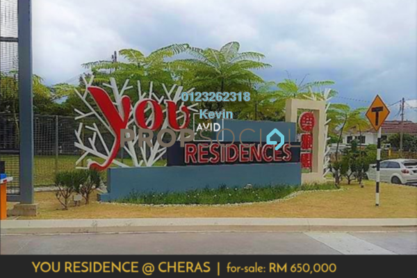For Sale Condominium at You Residences @ You City, Batu 9 Cheras Freehold Fully Furnished 3R/2B 650k